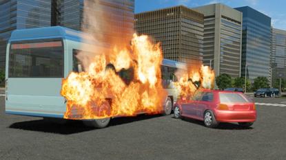 交通公共安全宣传动画
