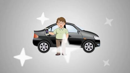 车联网智能终端远程空调宣传动画